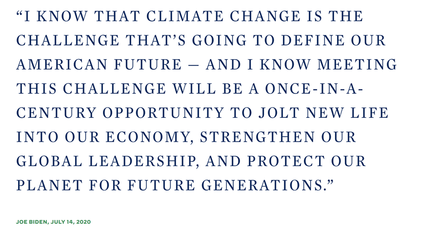 Taken from https://joebiden.com/climate-plan/